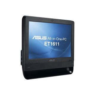 Product image of Asus EeeTop PC ET1611PUT (15.6 inch) All-In-One PC Atom (D425) 1.8GHz 2GB 320GB WLAN Windows 7 HP (Intel GM950 Graphics)