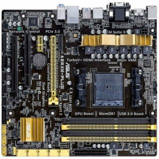 Product image of Asus A88XM-PLUS Motherboard AMD Athlon/A-Series Processors Socket FM2+  A88X (Bolton D4) mATX RAID Gigabit LAN (Integrated AMD Radeon HD 7000/8000 Graphics)