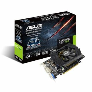 Product image of Asus GTX750-PHOC-1GD5 Graphics Card GeForce GTX 750 1GB PCI-E VGA DVI HDMI
