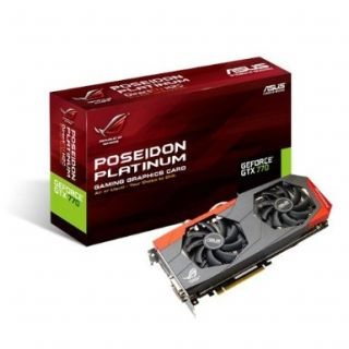 Product image of Asus ROG POSEIDON-GTX770-P-2GD5 Graphics Card nVidia GeForce GTX 770 2GB PCI-E DVI HDMI DisplayPort