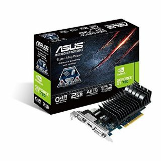 Product image of Asus GT730-SL-2GD3-BRK Graphics Card nVidia GeForce GT730 2GB PCI Express 2.0 VGA/DVI/HDMI