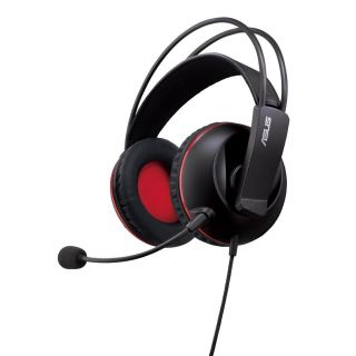 Product image of ASUS CERBERUS Asus Cerberus Gaming Headset, 60mm Drivers, Full-size Cushions, Dual-mic, Braided Cable