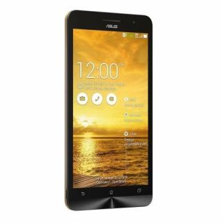 Product image of Asus Zenfone 6 (6 inch) Smartphone Intel Atom (Z2580) 2.0GHz 2GB 16GB WLAN BT Camera (Front/Rear) Android 4.3 Jelly Bean (Gold)