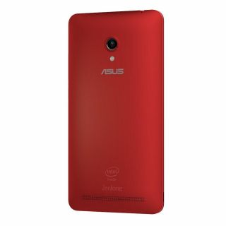 Product image of Asus Zenfone 6 (6 inch) Smartphone Intel Atom (Z2580) 2.0GHz 2GB 16GB WLAN BT Camera (Front/Rear) Android 4.3 Jelly Bean (Red)