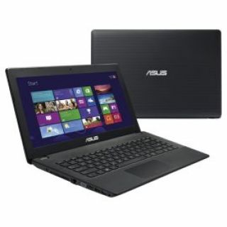 Product image of Asus X451CA (14 inch) Notebook PC Core i3 (3217U) 1.8GHz 4GB 500GB DVDSM WLAN Webcam Windows 8 (Integrated Intel HD Graphics) Black