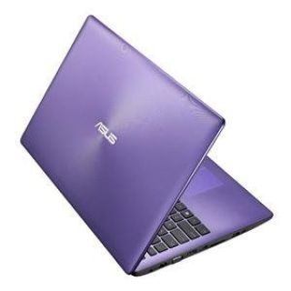 Product image of Asus X553MA (15.6 inch) Notebook PC Dual Core Celeron (N2815) 1.86GHz 4GB 1TB DVDSM WLAN BT Webcam Windows 8 (Purple)