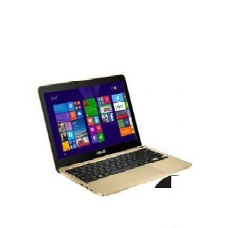 Product image of Asus EeeBook X205TA (11.6 inch) Ultrabook Atom (Z3735F) 1.33GHz 2GB 32GB eMMC Bluetooth 4.0 Webcam Windows 8.1 with Bing (Integrated Intel HD Graphics) Gold with Office 365 Personal