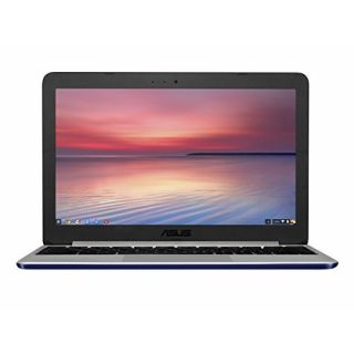 Product image of Asus Chromebook C201PA (11.6 inch) On Board Processor RK3288C 4GB 16GB HD Webcam Chrome OS No Odd (Navy Blue)