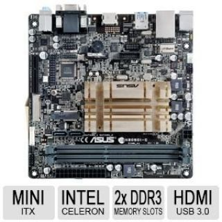 Product image of Asus N3050I-C Motherboard 2 x U-DIMM Celeron Dual-Core N3150 Processor Mini ITX (Integrated Graphics Processor)