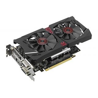 Product image of ASUS AMD R7 370 OC STRIX GAMING 1050MHz 5600MHz 4GB 256-bit DDR5 DVI-I/DVI-D/HDMI/DP 2*FAN PCI-E GRAPHICS CARD