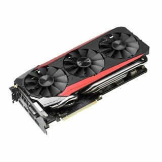 Product image of ASUS NVIDIA GTX 980Ti GAMING 1190MHz (Boost 1291MHz) 7200MHz 6GB GDDR5 384-bit DL-DVI-I/HDMI/3*DP PCI-E GRAPHICS CARD