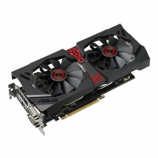Product image of ASUS STRIX-R9380-DC2OC-4G Asus Radeon STRIX R9 380 4GB DDR5 PCIe3 2 DVI HDMI DP 990MHz Clock Overclocked