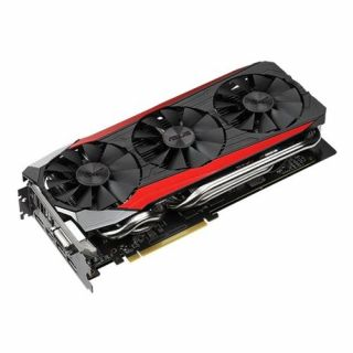 Product image of ASUS STRIX-R9390-DC3-8GD Asus Radeon R9 390 STRIX 8GB DDR5 PCIe3 DVI HDMI 3 DP 1020MHz Clock DirectCU III