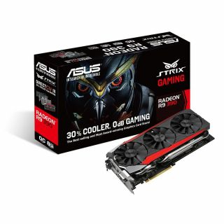 Product image of Asus STRIX R9390-DC3OC-8GD5-GAMING (8GB) Graphics Card Radeon R9 390 PCI Express 3.0 DisplayPort HDMI DVI-D