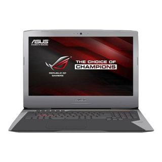 Product image of Asus ROG G752 Series G752VT (17.3 inch) Gaming Notebook Core i7 (6700HQ) 2.6GHz 16GB 256GB SSD BT Windows 10 (nVidia GeForce GTX 970M) Grey