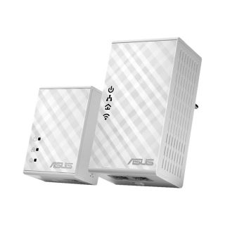Product image of Asus PL-N12 Kit 300 Mbps Wi-Fi HomePlug AV500 Powerline Adapter Kit