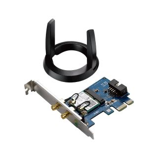 Product image of ASUS PC-AC55BT Dual-Band Wireless-AC1200 Bluetooth 4.0 PCI-E Adapter