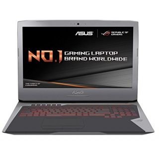 Product image of Asus G752VY-GC480T (17.3 inch) Notebook Intel Core i7 (6700HQ) 2.6GHz 32GB 256GB SSD WLAN BT 1920 x 1080 16:9 (nVidia GeForce GTX 980M)