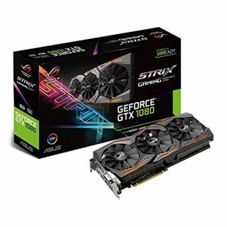 Product image of Asus Strix GeForce GTX 1080 Founders Edition (8GB) Graphics Card PCI Express 3.0 DisplayPort/HDMI/DVI-D