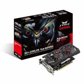 Product image of ASUS STRIX-R7370-DC2-4GD5-GAMING Asus Radeon STRIX R7 370 4GB DDR5 PCIe3 2 DVI HDMI DP 995MHz Clock