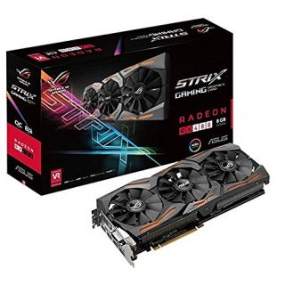 Product image of ASUS STRIX GAMING RX480 DirectCU III 8GB - 90YV09K1-M0NA00