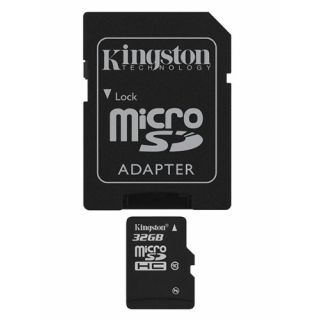 Product image of Kingston (32GB) Micro SDHC Card (Class 10) with Adaptor*