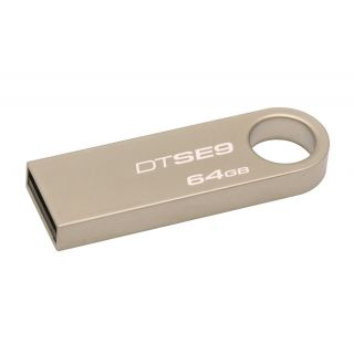 Product image of Kingston DataTraveler SE9 (64GB) Special Edition USB 2.0 Flash Drive