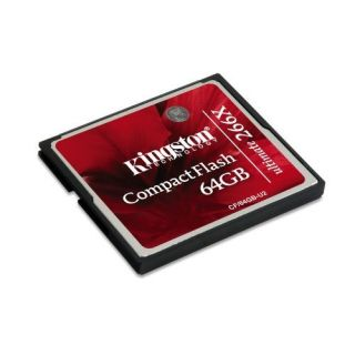 Product image of Kingston CompactFlash Ultimate (64GB) Memory Card 266x With Recovery s/w