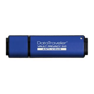 Product image of Kingston DataTraveler Vault (Privacy Edition) 16GB USB 3.0 Anti-Virus Flash Drive with 256-bit AES Hardware-Based Encryption