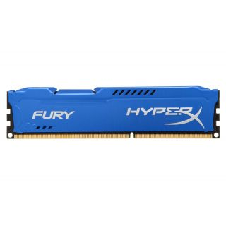 Product image of Kingston HyperX FURY Blue 8GB (1 x 8GB) Memory Module 1600MHz DDR3 Non-ECC CL10 1.5V Unbuffered