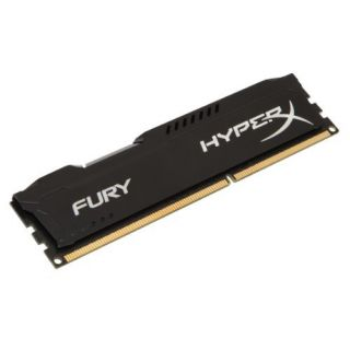 Product image of Kingston HyperX FURY Black 8GB (1 x 8GB) Memory Module 1600MHz DDR3 CL10 240-Pin DIMM