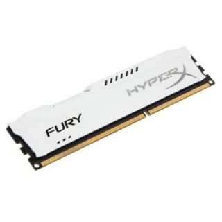 Product image of Kingston HyperX FURY White 4GB (1 x 4GB) Memory Module 1600MHz DDR3 Non-ECC CL10 1.5V Unbuffered