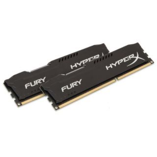 Product image of Kingston HyperX FURY Black 8GB (2 x 4GB) Memory Kit 1866MHz DDR3 CL10 240-Pin DIMM