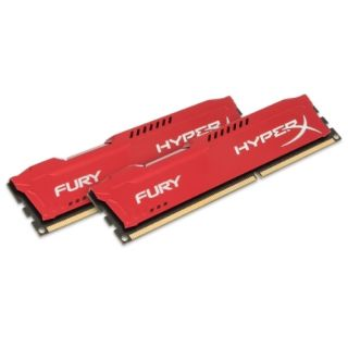 Product image of Kingston HyperX FURY Red 8GB (2 x 4GB) Memory Kit 1866MHz DDR3 Non-ECC CL10 1.5V Unbuffered