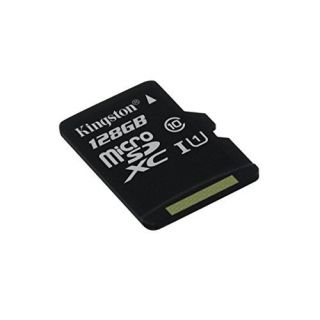 Product image of Kingston (128GB) microSDXC Class 10 UHS-I 45MB/s Read Card with Adapter