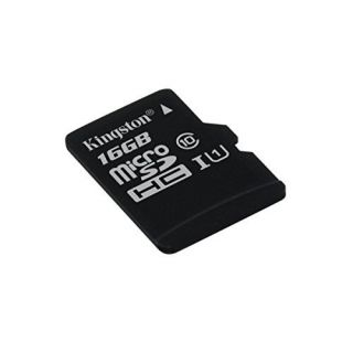 Product image of Kingston (16GB) microSDXC Class 10 UHS-I 45R Flash Card Single without Adapter