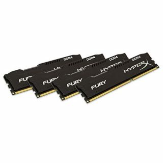 Product image of KINGSTON - HYPERX 32GB DDR4-2666 MHZ CL13 DIMM KIT OF 4 XMP HYPERX SAVAGE BLACK