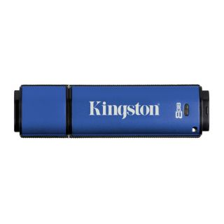 Product image of Kingston DataTraveler Vault (Privacy Edition) 8GB USB Flash Drive (100% Encrypted)