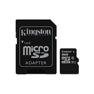 Product image of Kingston Digital Europe Ltd SDCIT/8GB KTC 8GB microSDHC UHS-I C10