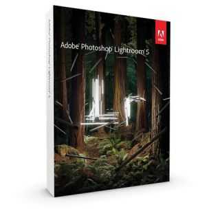 Product image of Adobe Photoshop Lightroom 5 Photo Imaging Software 1 User PC/Mac Student and Teacher Edition