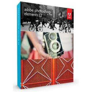 Product image of Adobe Photoshop Elements 12 Imaging Software for Windows and Mac