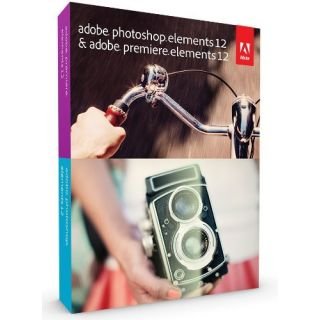 Product image of Adobe Photoshop Elements and Premiere Elements 12 Imaging Software for PC and Mac