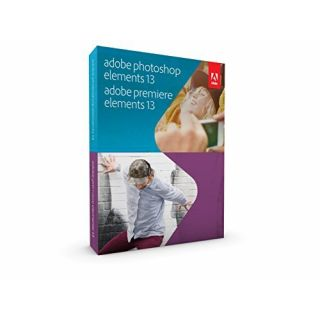 Product image of Adobe Photoshop Elements 13 and Premiere Elements 13 RETAIL