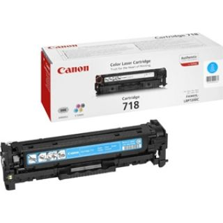 Product image of Canon 718 (Cyan) Toner Cartridge (Yield 2,900 Pages)