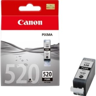 Product image of Canon PGI-520 (Black) Ink Cartridge (Yield 324 Pages) - (Pack of 2)