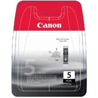 Product image of Canon PGI-5BK (Black) Ink Cartridge (Blister Pack) with Security