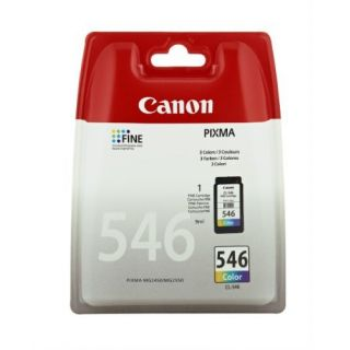 Product image of Canon CL-546 (Colour - C/M/Y) Ink Cartridge (Yield 180 Pages) Blister with Security for Pixma MG2250, MG2450, MG2550
