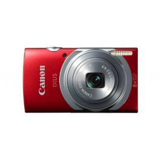 Product image of Canon IXUS 150 (16MP) 8x Zoom 2.7 inch LCD 720P Digital Compact Camera (Red)