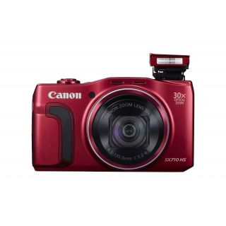 Product image of Canon PowerShot SX710 HS (20.3MP) WiFi Digital Compact Camera (Red) 30x Zoom 3.0 inch LCD Screen
