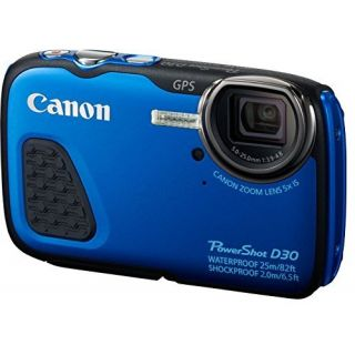 Product image of Canon Powershot D30 - 12MP (Blue)